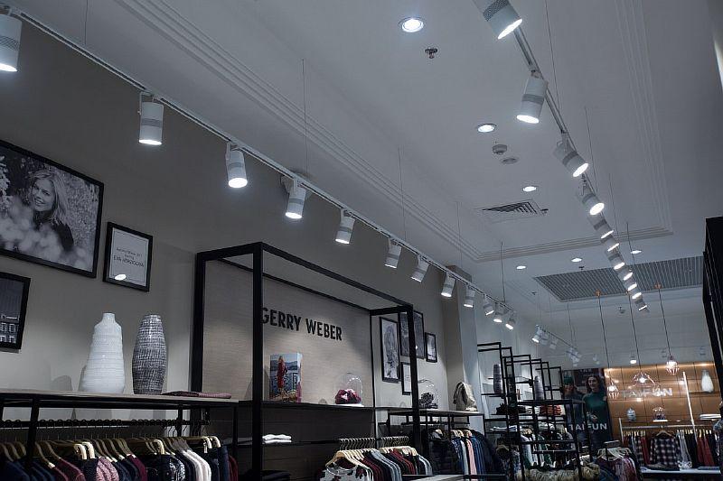 Трековые светильники и эффективность продаж
