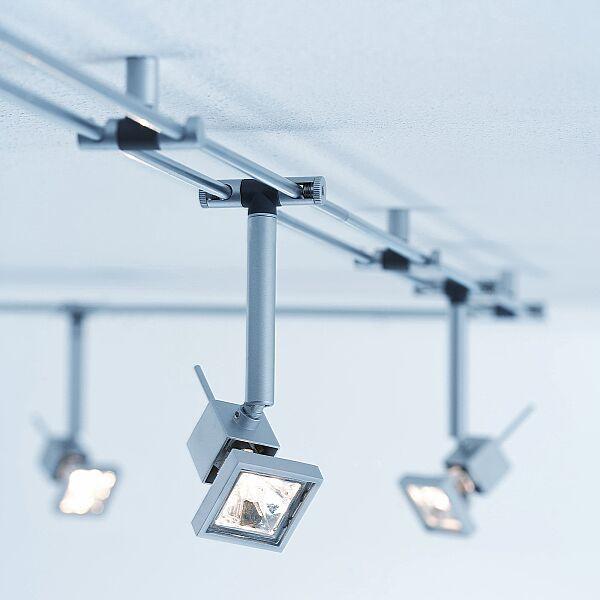 Трековые светильники в домашнем интерьере
