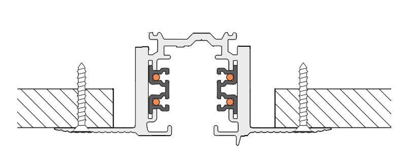 Как установить трековый шинопровод