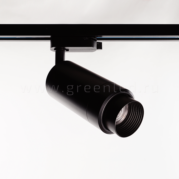 Трековый LED светильник TRV-5005, изменяемый угол света, черный_product_product