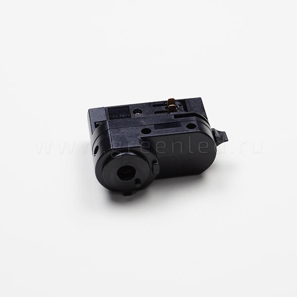 Адаптер питания DALI для трехфазной трековой системы, черный