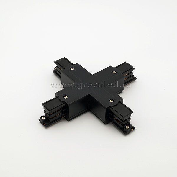 Соединитель Х аналог Global XTS 38-1, черный