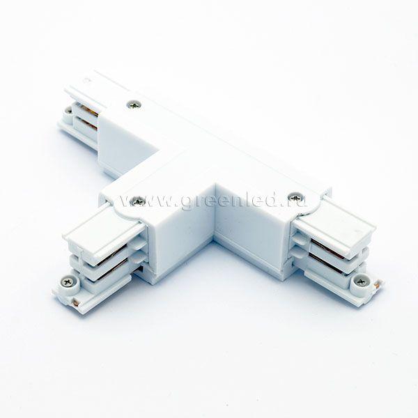 Соединитель Т аналог Global XTS 36-1, белый