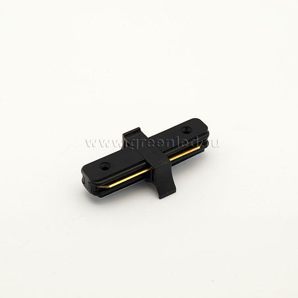 Соединитель шинопровода «Эконом» прямой, черный