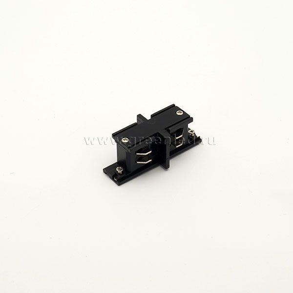 Соединитель внутренний трехфазного шинопровода, черный