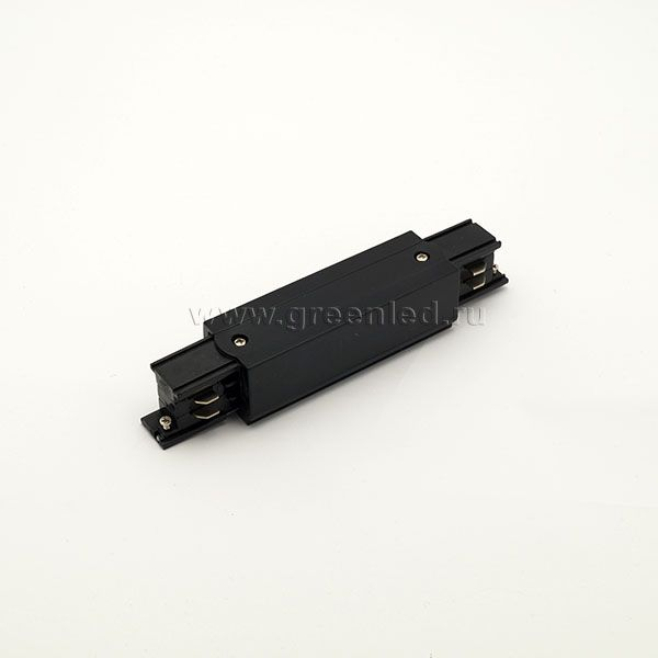 Соединитель наружный трехфазного шинопровода, черный