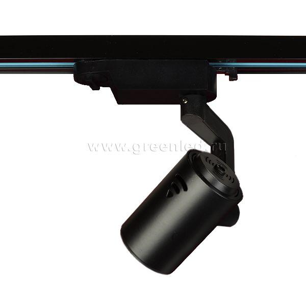 Трековый LED светильник TRV-5002, черный, вид сзади
