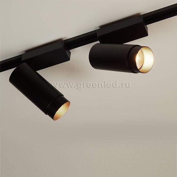 Диммируемый LED светильник TRVD-5017T, черный, потолочный монтаж