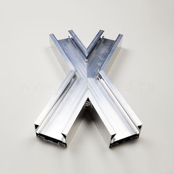 Х образный соединитель для профиля Flexy 45
