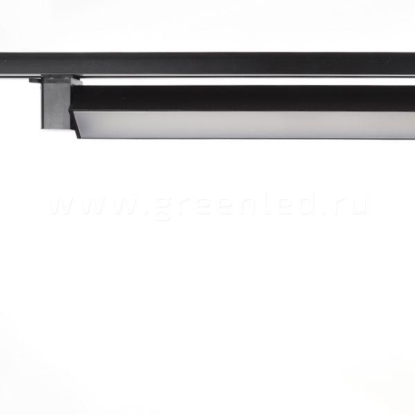 Трековый LED светильник TRV-L02, черный